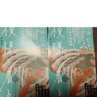 模様を着る 名古屋市博物館 二枚セット