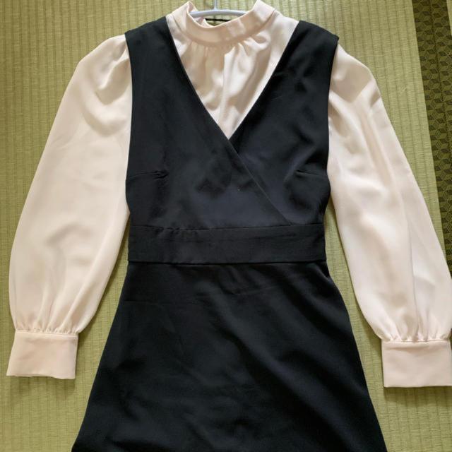GU(ジーユー)の[専用] サロペット  ワンピース のみ レディースのワンピース(ロングワンピース/マキシワンピース)の商品写真