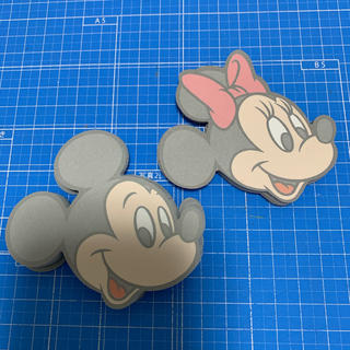Disney - ディズニー ミッキー ミニー フェイス メモ 40枚