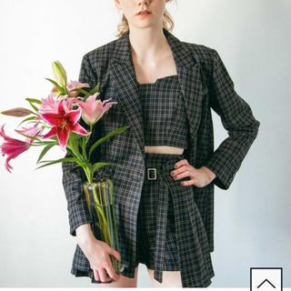 レディアゼル(REDYAZEL)のR柄オーバーサイズテーラードジャケット&スカート(テーラードジャケット)