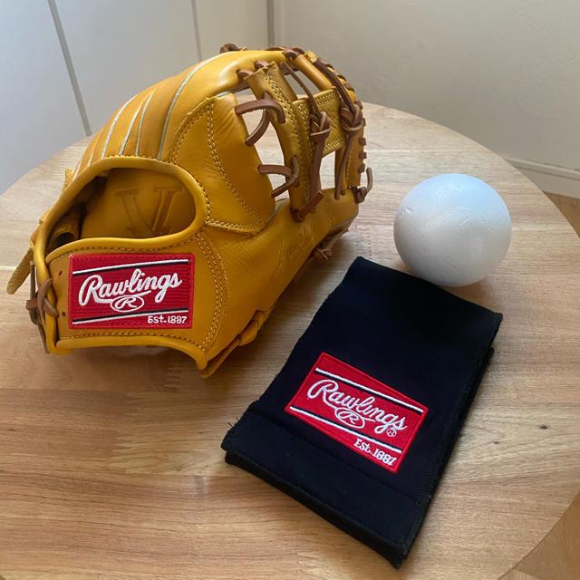 Rawlings(ローリングス)の【ローリングス 】軟式グローブ スポーツ/アウトドアの野球(グローブ)の商品写真