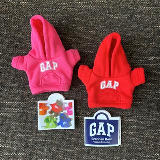 ギャップ(GAP)のGAP ガチャ GAP ブラナンベア パーカー ピンク&レッド 2個セット(キャラクターグッズ)