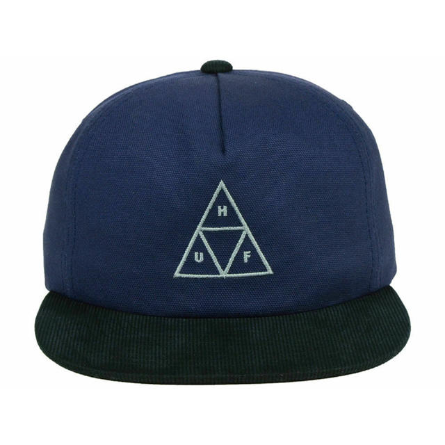 HUF(ハフ)の【新品未使用】HUF メンズ アジャスタブルネイビーブルー スナップバックハット メンズの帽子(キャップ)の商品写真