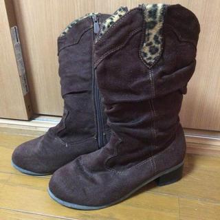ミキハウス(mikihouse)の24cm ジュニア スエード調 ブーツ(ブーツ)