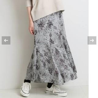 IENA - イエナ プリントマーメイドスカート 40