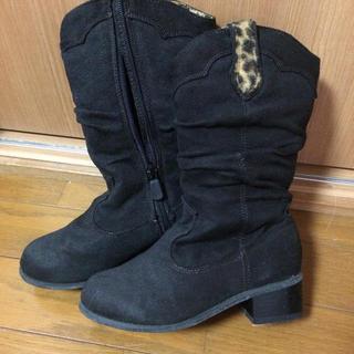 ミキハウス(mikihouse)の21cm ジュニア スエード調 ブーツ(ブーツ)