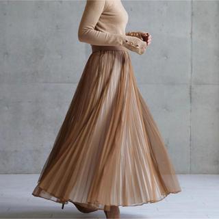Drawer - SHE tokyo シートーキョー♪シフォンプリーツスカート  36