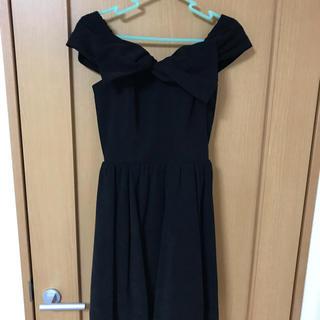 Lily Brown - 結婚式用 ドレス 黒 M