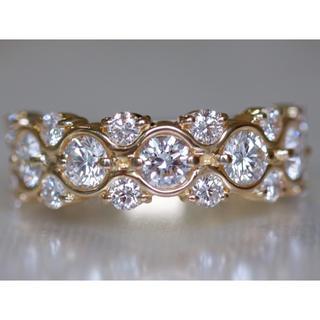 ミキモト(MIKIMOTO)のK18 ミキモト ダイヤモンド 1.30ct リング 8号  MIKIMOTO(リング(指輪))