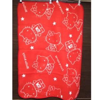 サンリオ(サンリオ)の【新品未使用】ハローキティ  ひざ掛け 毛布 ブランケット(毛布)
