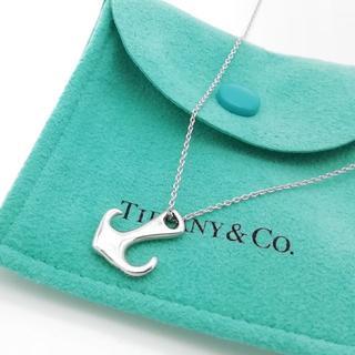 Tiffany & Co. - 希少 美品 ヴィンテージ ティファニー アンカー ネックレス KK31