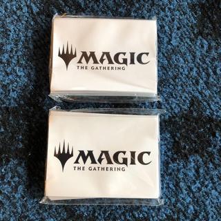マジックザギャザリング(マジック:ザ・ギャザリング)のMTG☆イベント配布 公式スリーブ ロゴタイプ 2セット(カードサプライ/アクセサリ)