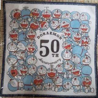 サンリオ - ドラえもん 50周年 非売品ハンドタオル