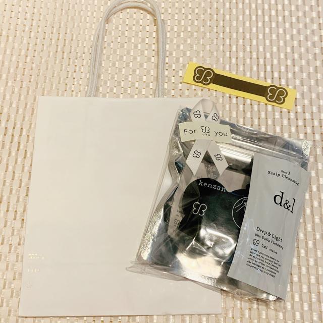 Cosme Kitchen(コスメキッチン)のウカ ケンザン ブラック コスメ/美容のヘアケア/スタイリング(スカルプケア)の商品写真