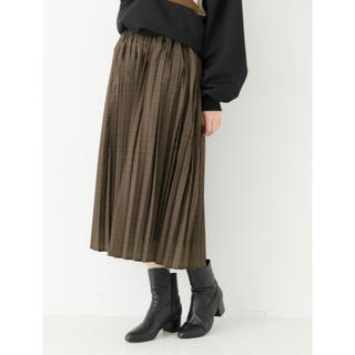 chocol raffine robe - 【chocolat raffine robe robe】プリーツスカート