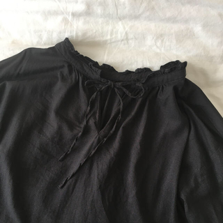 Lochie - black blouse