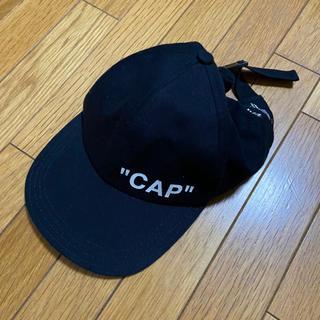 オフホワイト(OFF-WHITE)の稀少!!OFF WHITE CAP オフホワイト キャップ(キャップ)