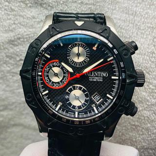 ヴァレンティノ(VALENTINO)の美品【自動巻】VALENTINO メンズ 腕時計(腕時計(アナログ))