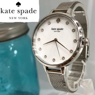 kate spade new york - 108 ケイトスペード時計 11Pダイヤ レディース腕時計 新品電池