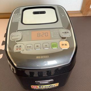 アイリスオーヤマ - 圧力IHジャー炊飯器 (3合炊き)アイリスオーヤマ  米屋の旨み