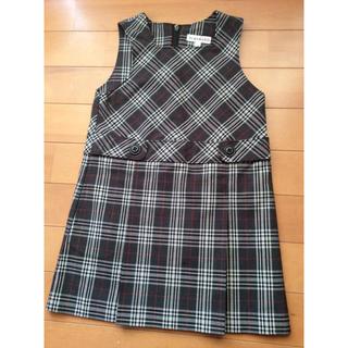 サンカンシオン(3can4on)の100  3can4on  ジャンパースカート (スカート)