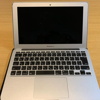 Mac (Apple) - MacBook Air 11.6インチ Early 2015 シルバー SSD