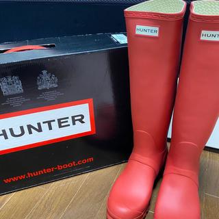 ハンター(HUNTER)のHANTER レインブーツ(24cm)(レインブーツ/長靴)