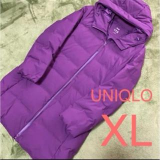 UNIQLO - ユニクロ シームレス ダウン コート XL