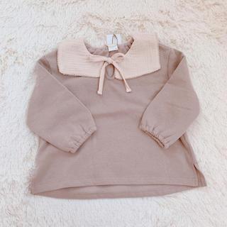 フタフタ(futafuta)のテータテート♡トップス90 新品(Tシャツ/カットソー)