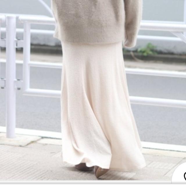 Plage(プラージュ)のyuzuhiro2279様専用plage ♡loop yarnマーメイドスカート レディースのスカート(ロングスカート)の商品写真
