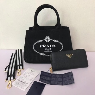 プラダ(PRADA)のPRADA プラダ カナパショルダーバッグ 財布 2点(ショルダーバッグ)