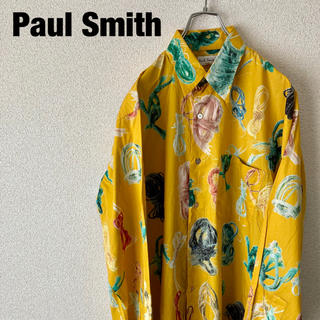 ポールスミス(Paul Smith)のPaul Smith ROPE PRINT SHIRT 90s 古着(シャツ)