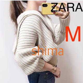 ZARA - ZARA ジップアップニットカーディガン 新品 TODAYFUL moussy
