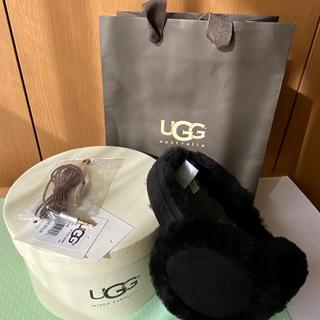 アグ(UGG)のUGG イヤーマフ 箱・ショップ袋付 未使用品(イヤーマフ)