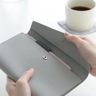 「クラシ手帳」にぴったりな本革カバー / グレー