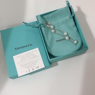 Tiffany & Co. - ティファニー バイザヤードパールブレスレットローズゴールド