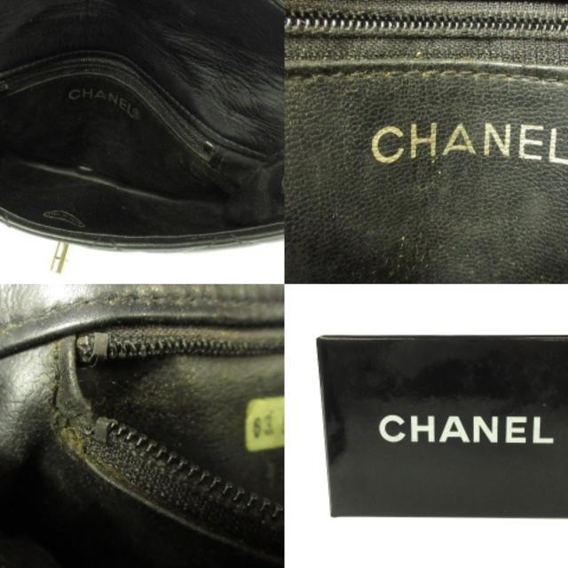 CHANEL(シャネル)のシャネル ウエストポーチ マトラッセ 黒 レディースのバッグ(ボディバッグ/ウエストポーチ)の商品写真