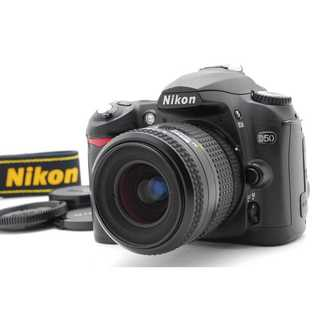 Nikon - ★ 極上美品 iPhoneに転送OK!Nikon D50 レンズキット  ★