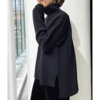 アパルトモンドゥーズィエムクラス(L'Appartement DEUXIEME CLASSE)のタグ付き新品⭐️L'Appartement Back Long T/N Knit(ニット/セーター)