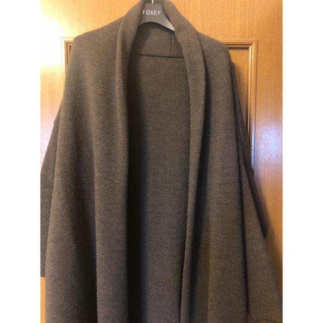 DEUXIEME CLASSE(ドゥーズィエムクラス)のスムースニットガウンコート レディースのジャケット/アウター(その他)の商品写真