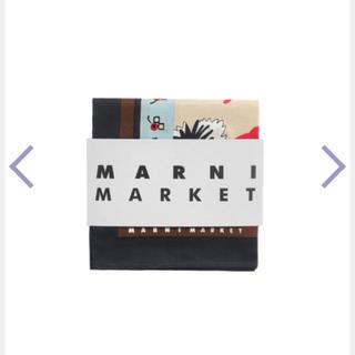 マルニ(Marni)のMARNI FLOWER CAFE 新品未使用 マルニ フラワースカーフ(バンダナ/スカーフ)