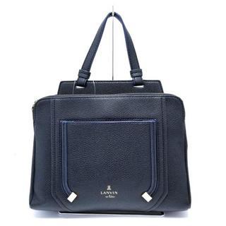 ランバンオンブルー(LANVIN en Bleu)のランバンオンブルー ハンドバッグ美品 (ハンドバッグ)