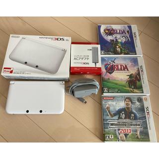 ニンテンドウ(任天堂)のニンテンドー 3DS LL ソフト3本セット(携帯用ゲーム機本体)