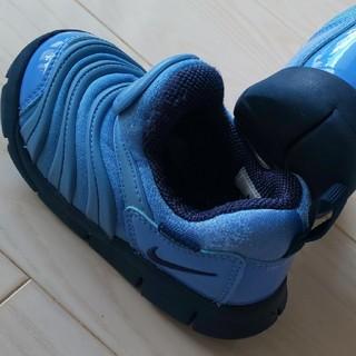 NIKE - NIKE ダイナモフリー 14cm ブルー青