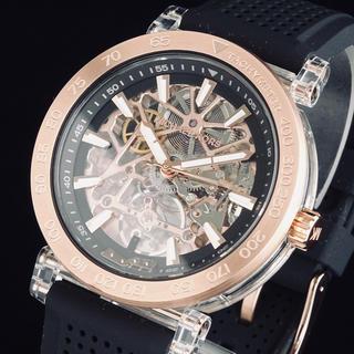 マイケルコース(Michael Kors)の◆訳あり大特価◆ マイケル・コース 新品 メンズ 腕時計 フルスケルトン 自動巻(腕時計(アナログ))