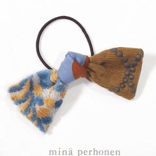 ミナペルホネン(mina perhonen)のミナペルホネン ハンドメイドヘアゴム シンフォニー×タンバリン(ヘアゴム/シュシュ)