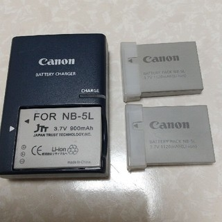 Canon充電器 NB-5Lバッテリー