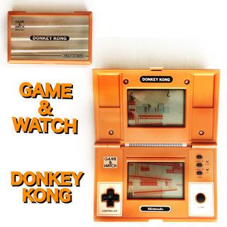 任天堂 - ☆すぐ遊べる電池付き 懐かしの任天堂 ゲームウォッチ ドンキーコング