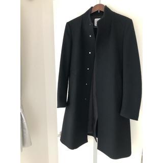 STUDIOUS - 【美品!】UNITED TOKYOボタンレスメリノウールスタンドカラーコート