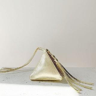 ドゥーズィエムクラス(DEUXIEME CLASSE)のChieko + plus mini triangle gold(ネックレス)